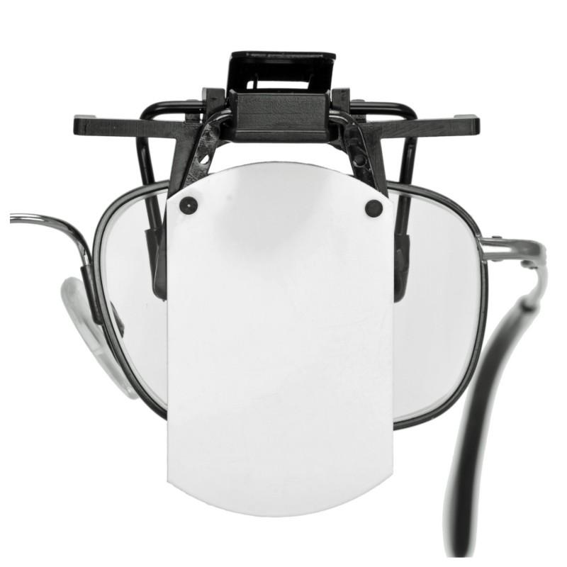 Eye-blinder voor op de bril