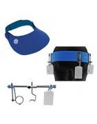 Schietbrillen, petjes, hoofdbanden